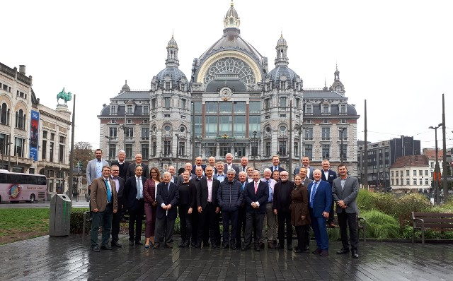 Participants of the General Assembly 2018 in Antwerp (photo BEMAS).