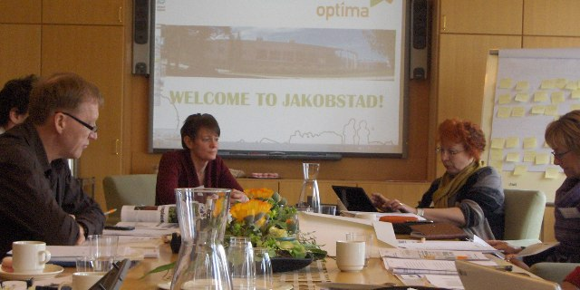 Opening of the meeting by Mrs. Pernilla Öhberg, Project Manager.