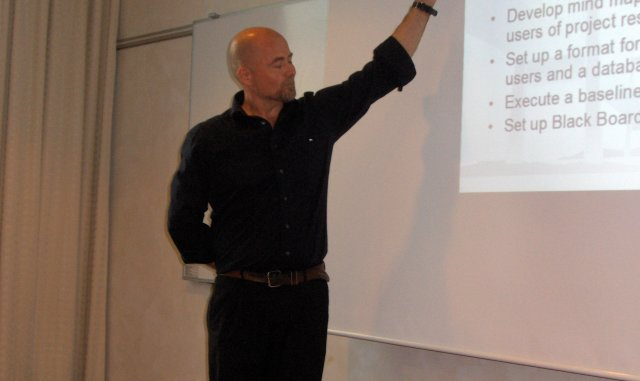 Mr. Palle Grøndahl, DDV; explaining results from Work Package 1