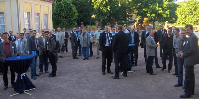 Reception at Bad Lachstätt