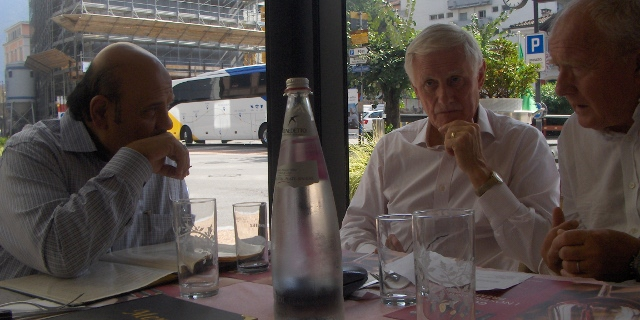 Business lunch near the IMA-Office.