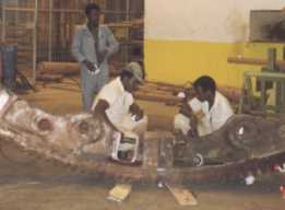 Mining: Successful on-site repair welding in Africa.<BR>  The repair procedure was written in Europe.