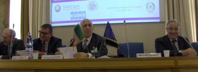 Health Care Opening Session, chaired by the President CNIM Francesco Paolo Branca (IT).