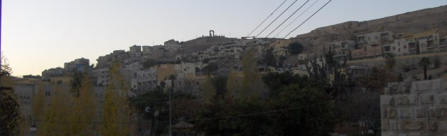Slyline seen from DownTown, Amman