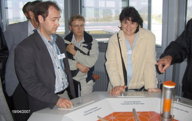 Mrs. Beatrice Cantieni-Wolf, FM Schweiz, was optimizing the energy management of Switzerland!