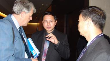 Prof. MA Shining (right) and Prof. YOU Guangrong<BR>  Chinese Mechanical Engineering Society (CMES), Beijing
