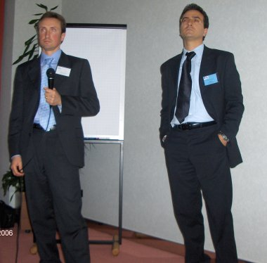Mr. Severino Marchetti, ISE and Mr. Emidio Chiappini, Pfizer