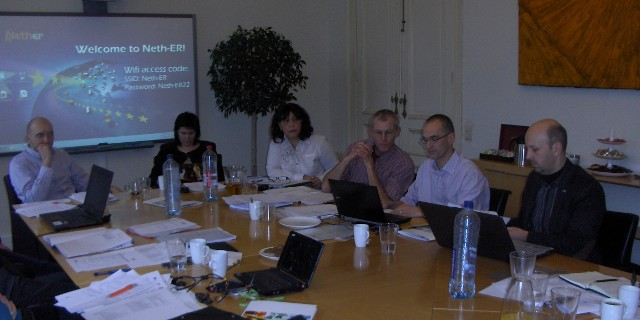 Final Pile Up project meeting<BR>  left: Marcin Siwiec (PL), TRENO GROOP.