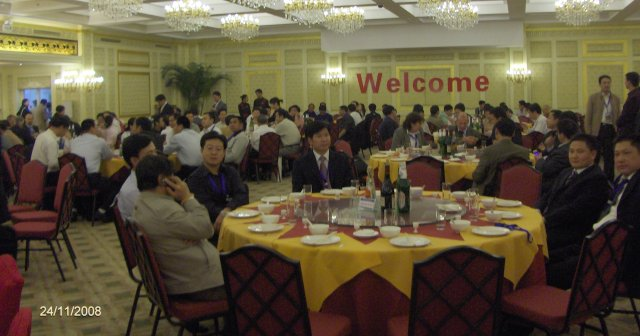 The Welcome Dinner - a real Come Together Party.