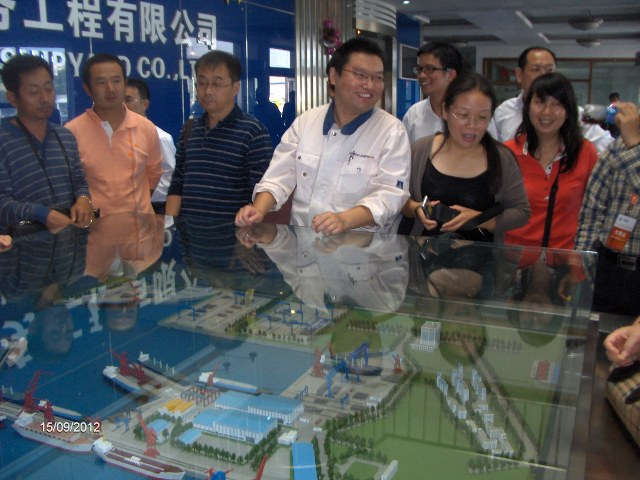 Presentation of COSCO (Dalian) SHIPYARD.
