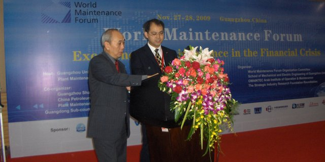 Mr. Chan Tung (US): Maintenance Education and e-learning in the US (left)<BR>  Mr. Bob Xu (right).